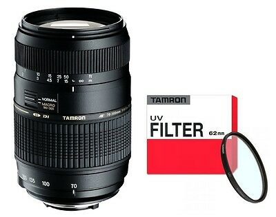 Tamron AF 70-300 mm Di LD + Zubehörpaket: (UV-Filter) f. Sony Alpha A77 A65 A99