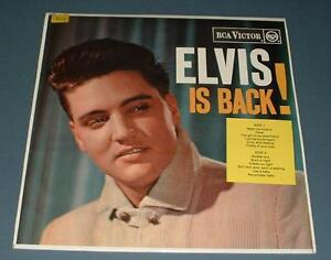 ELVIS PRESLEY elvis is back UK RCA VICTOR STEREO RE LP