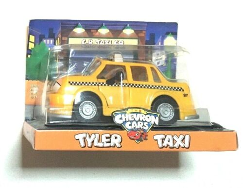 The Chevron Cars Tyler Taxi Collectible Toy Vintage Retired 1997