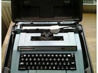 Old electric typewriter