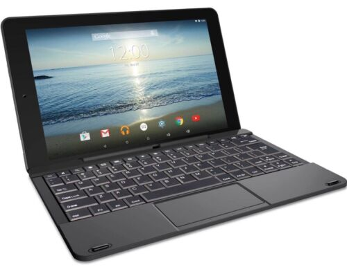 RCA Black 10 Viking Pro Tablet Android 5.0 32GB Quad Core keyboard (Black)