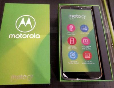 NEW IN BOX Motorola MOTO G6 PLAY XT1922-9 32GB UNLOCKED CDMA & GSM Deep Indigo