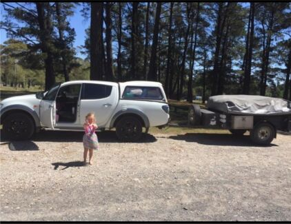 Heavy duty Australian made Camel camper trailer Cordeaux Heights Wollongong Area Preview