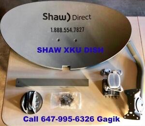 Shaw Direct Brand New in Box 60E DISH & XKU 75E LNB's