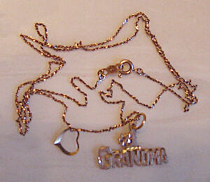 10KT GOLD CHAIN WITH CHARMS
