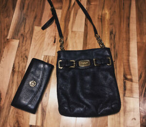 Micheal Kors cross body purse/bag AND wallet