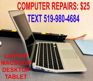 COMPUTER, TABLET, CELL PHONE REPAIRS
