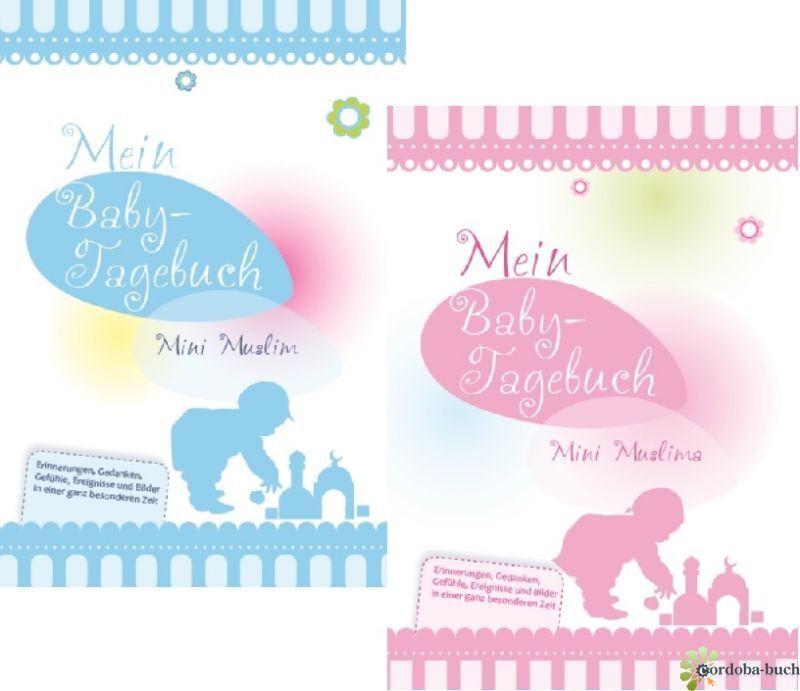 Mein Babytagebuch Junge / Mädchen Geburt Islam Abaya Takschita