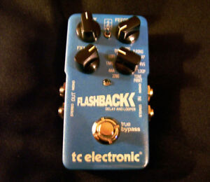TC Electronics Flashback Delay Pedal - BRAND NEW !