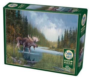 New sealed 1000 piece Cobble Hill  jigsaw puzzle moose lake