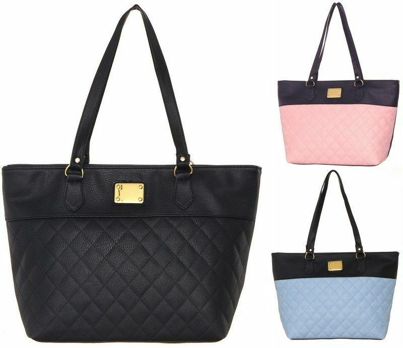 Damen Handtasche Damentasche Schultertasche Shopper-Tasche Shopper Bag FB116
