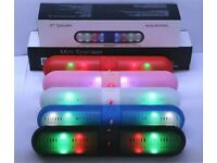 pills speakers with lights Bluetooth speaker for samsung ,iPhone,htc laptop