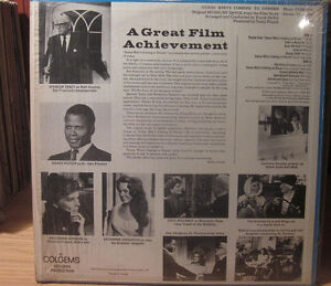 1968 OST Vinyl album w/ Sidney Poitier - Guess Who`s Coming to.. Kitchener / Waterloo Kitchener Area image 3