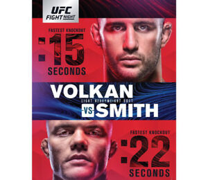5 lower bowl tickets to UFC Moncton- October 27th, 2018