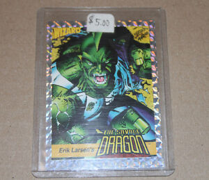 Erik Larsen's The Savage Dragon trading card Strathcona County Edmonton Area image 1