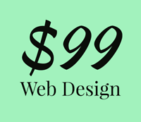 Website design for just $99.