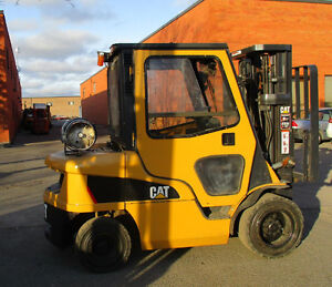 2011 Caterpillar forklift 6000Lb with side shift