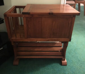 Hand Crafted Wood Storage and Display Unit