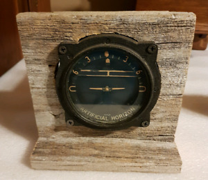 antique airplane cockpit ARTIFICIAL HORIZON gauge...BEST OFFER