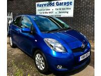 2011 Toyota Yaris T-Spirit 1.3 VVT-I Blazing Blue Metallic
