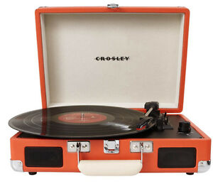 Table Tournante Crosley orange