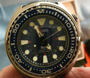 Seiko Kinetic Padi GMT Dive watch