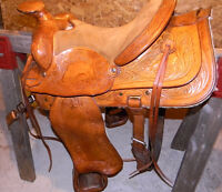Eamore's Custom Horse Saddle - 'Drifter'
