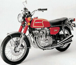 1972-73 Honda CB350F Four Parts