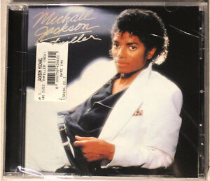 NEW SEALED Michael Jackson Thriller Music CD Only 12 BUCKS!!!