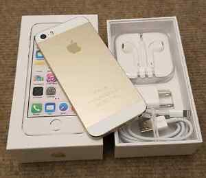 Iphone 5s 32gb Gold with Bell / Virgin