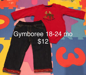Baby boy clothing 18-24 months