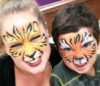 Face painting, Balloon twistting & glitter tattoos