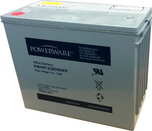 Brand New 140Ah 12V AGM battery Powerware by Eaton