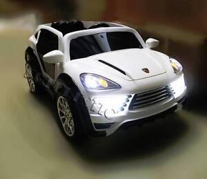 Large 12V Porsche Cayenne Electric Ride On Car Kid 3 Speed Remote Parramatta Parramatta Area Preview