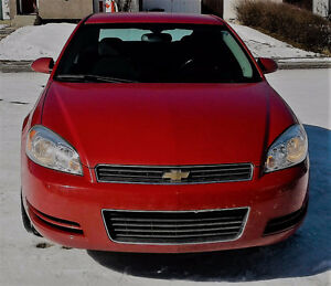 PRICE REDUCED - 2008 Chev Impala LT; 4 DR Sedan (57,799 Km)