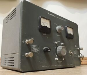 Circa 1960's Heathkit BE-5 6V & 12V Battery Charger / Eliminator