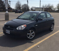 2008 Hyundai Accent L Coupe new tires real gas saver, $4200obo