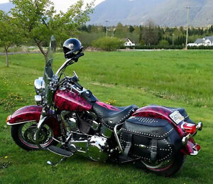 Beautiful Heritage Softail with bling