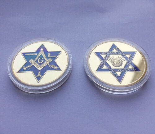 Mason Masonic Freemason Freemasonry Faith Challenge Collectible Coin Gift US EU