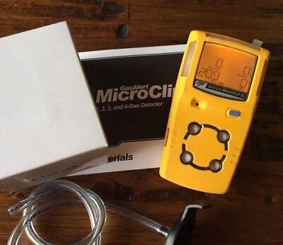Bw Gasalert Microclip Xl Xt Multigas Gas Monitor Detector Meter H2slelcoo2