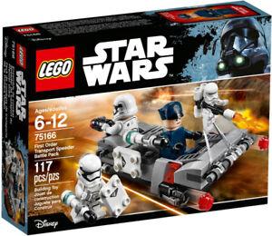 SAVE 21% Lego Star Wars First Order Transport Speeder 75166 New