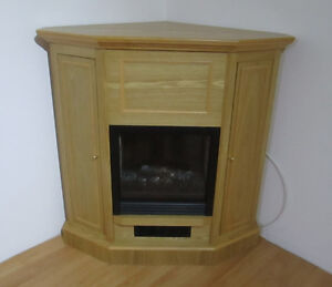 Fireplace TV Stand Corner Electric Heater