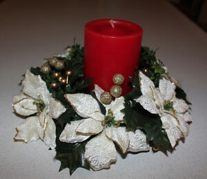 Christmas Items - Candle Holders, Pewter Ornaments,