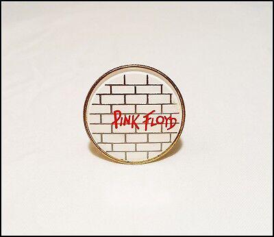 Pink Foyd The Wall 80's Reflective Pin Pinback