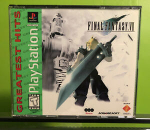 FINAL FANTASY 7 VII seven snes ps4 ps1 sega xbox atari