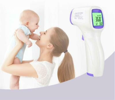 Digital Infrared Forehead Thermometer No Touch For Adults Kids Baby Fahrenheit