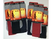 12 Pairs Heat Hold Mens Thermal Long Socks