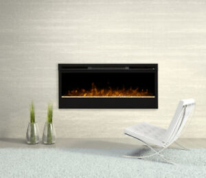 "DIMPLEX 50"" ELECTRIC WALL MOUNT FIREPLACE BLF50"