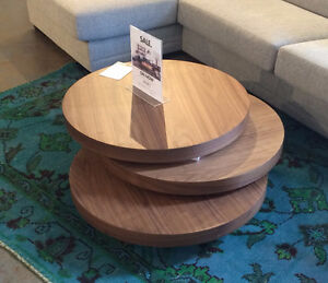 Moe's Collection Walnut expandable coffee table
