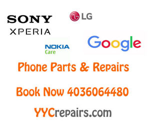 SONY, LG CellPhone Parts & Repairs & Unlocks